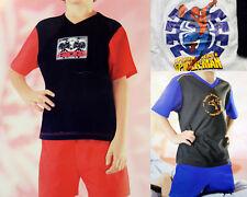 Schlafanzug Pyjama kurz Shorty Jungen 3 Varianten Gr. 98/104 - 134/140