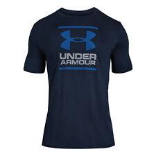 Under Armour Herren Gl Foundation Shortsleeve Tee  T-Shirt dunkelblau NEU