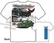 67 68 Pontiac Firebird T shirts 1967 1968 Muscle Car Tee Sz M L XL 2XL 3XL