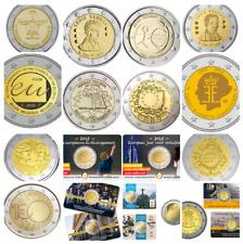 BELGICA TODOS LOS 2 EUROS CONMEMORATIVOS DESDE 2005 HASTA 2019