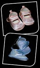 Babyschuhe Schuhe Baby rosa blau Taufe Hochzeit Feier My special day Ballarinas
