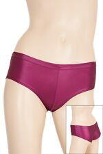 Damen Wetlook Panty Slip viele Farben Glanz super elastisch Hauteng S bis XXL