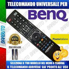 TELECOMANDO UNIVERSALE BENQ, CLICCA SUL TUO MODELLO LO RICEVERAI GIA PRONTO