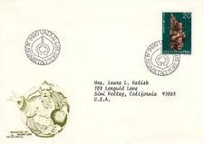 1977 Liechtenstein Fdc Cachet Cover - Christmas