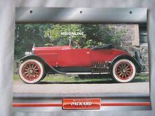 Packard Single 6 Dream Cars Card