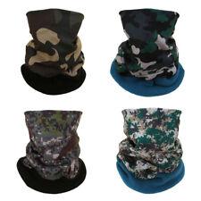 Fleece Bandana Face Scarf Headwear Head Neck Gaiter Snood Warmer Tube Scarf Wrap