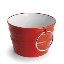 Rundes Aufsatzbecken/wandhängend Waschbecken Bacile Glänzend 46,5xH30cm Keramik