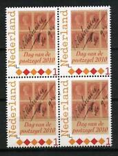 Nederland 2768a 2010 Dag van de postzegel klasse 1- blok v 4