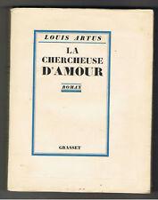 LA CHERCHEUSE D'AMOUR  LOUIS ARTUS  1926  1/56 ex velin