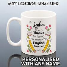 AWESOME TEACHER MUG TEACHING MUG School Year Term End Gift Best Teachers Cup