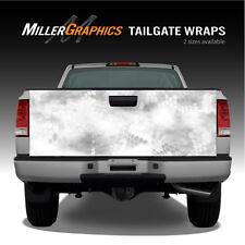 "Camo ""Chameleon Snow"" Truck Tailgate Vinyl Graphic Decal Wrap"