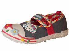 Girls Kids Hello Kitty Water Slide Canvas Shoe