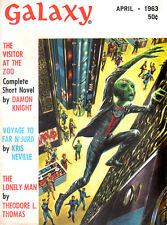 1963 Galaxy DAMON KNIGHT Kris Neville J F BONE Theodore L Thomas VINLAY Emsh
