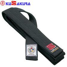 KUSAKURA Judo Black Kuro Obi Belt IJF Official from Japan