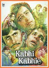 Kabhi Kabhie Love Is Life   Bollywood Movie Posters Vintage Classic Indian Films