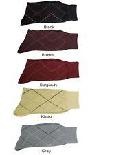 2 Pair Men's High Quality Striped Fashion Dress Socks One Size 10~13