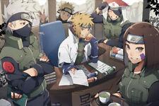 """Naruto Kakashi Anime Manga 24"""" x 16"""" Large Wall Poster Art Print Decor"""
