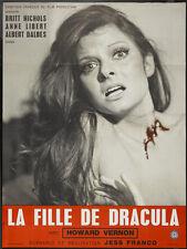 La fille de Dracula Dracula's daughter Howard Vernon Horror movie poster