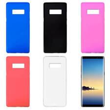 Funda Trasera de Gel TPU Mate para Samsung Galaxy Note 8 Silicona