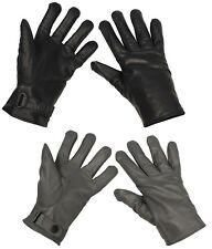 d4e7bb263f0240 Bundeswehr Lederhandschuhe Echtleder BW gefüttert Handschuhe Winter NEU
