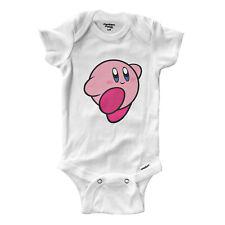 Infant Gerber Onesies Bodysuit Baby Shirt Cute Kirby Video Game Anime Smash Bros