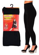 Nouveau Femmes Thermique Legging et serré noir Footless et pied Brossé Intérieur
