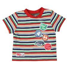 T-Shirt Multicolore Rayé pour Garçons Gr. 74 92 Von Boboli