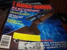 Guns & Ammo Magazine 3/1985 Electronic Spark-Fire .22