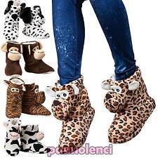 chaussons femme hiver idée cadeau peluche antidérapantes babouches JH7703