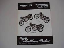 advertising Pubblicità 1979 BENELLI 354/125/504 SPORT