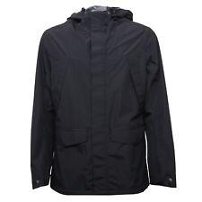 B4289 giubbotto uomo SELECTED HOMME HERITAGE giubbotti cappuccio nero jacket man
