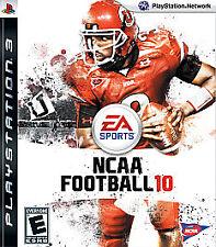 NEW - PS3 NCAA Football 10 - PS3 Video Game - Playstation 3 - FREE SHIPPING