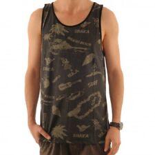 Billabong lei Day anuncios Tank Top Tank-Top camisa Hawaiian bajo camisa s1je02 bip5