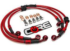 HONDA XR650L 1993-2015 FRONT & REAR BRAKE CUSTOM BRAKE LINE KIT CORE MOTO USA