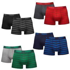 4 er Pack Puma Stripe 1515 Boxer Boxershorts Men Herren Unterhose Unterwäsche