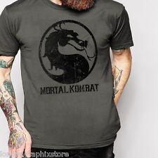 Mortal Kombat, videogame, T shirt, cotton, SZ S-2XL, Tank top, new, many colors