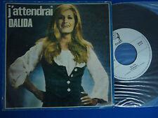 DALIDA - J'ATTENDRAI - PORTUGAL 45 SINGLE