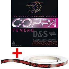 DONIC Belag Coppa Tenero / NEU/OVP/ Inkl. 50 cm Kantenband / Incl. edge band