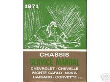 1971  71      CHEVELLE/SS SHOP MANUAL
