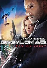 Vin Diesel Michelle Khan in Babylon A.D. Raw and Uncut DVD Movie 2009