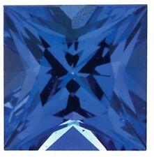 Natural Fine Blue Purple Tanzanite - Square Princess - Tanzania - AAA Grade