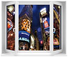 Sticker fenêtre trompe l'oeil New York City réf 207