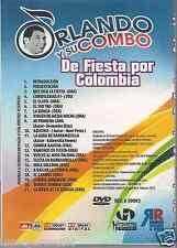 dvd ORLANDO Y SU COMBO DE FIESTA POR COLOMBIA vuelve al nido paloma 18 EXITOS