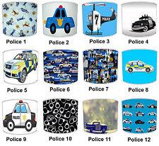 999 911 police abat-jour idéal pour correspondre à la police de couette police hélicoptère wall art