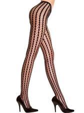 sexy MUSIC LEGS striped CROCHET seamless CIRCLE net PANTYHOSE stockings NYLONS
