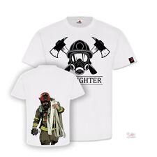 Firefighter Feuerwehr Brandweer Thin Red Line Freiwillige T-Shirt#32172
