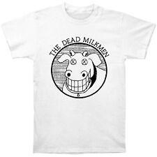 Authentic THE DEAD MILKMEN Band Cow Logo T-Shirt S M L XL 2XL NEW