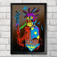 JEAN-MICHEL Basquiat POSTER Stampa A3 + 13 x 19 IN - 33 x 48 cm