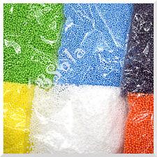 0,5 l de espuma de poliestireno bolas de espuma de poliestireno A Color esferas 2-3 mm Relleno Perlas Decoración