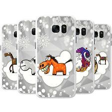 Horse Holiday Snowflake Season Snap-on Hard Case Phone Cover for Motorola Phones